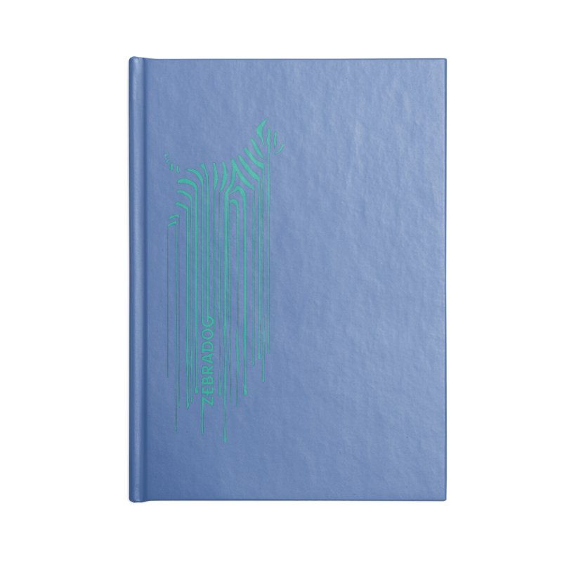 BlueDripDog Accessories Notebook by Zebradog Apparel & Accessories