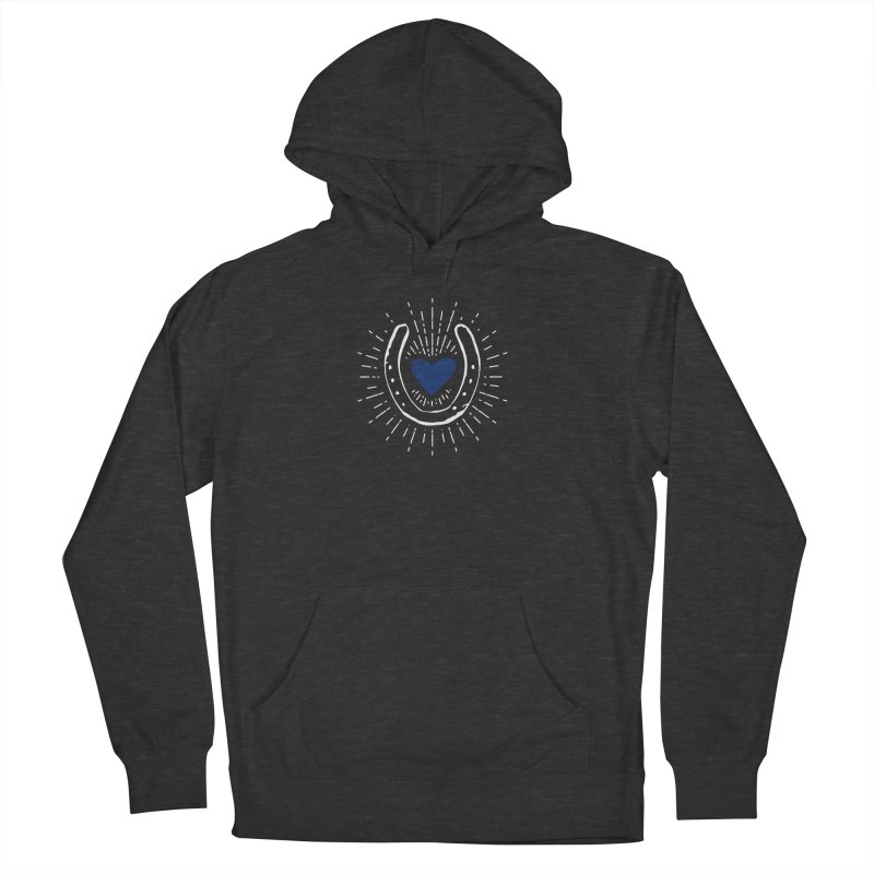 Stop and Eat the Roses Women's French Terry Pullover Hoody by Zebradog Apparel & Accessories