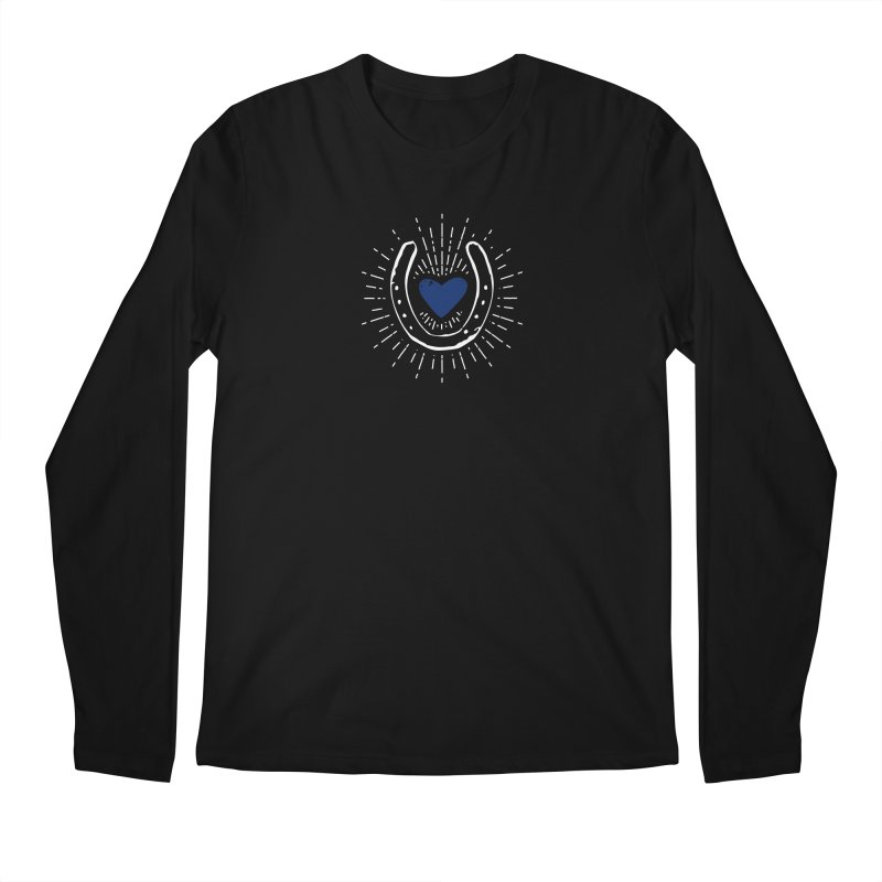 Stop and Eat the Roses Men's Regular Longsleeve T-Shirt by Zebradog Apparel & Accessories