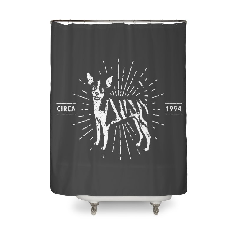 Z as in Zebra, D as in Dog Home Shower Curtain by Zebradog Apparel & Accessories