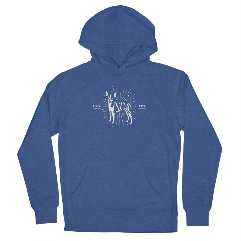 Z as in Zebra, D as in Dog Men's French Terry Pullover Hoody by Zebradog Apparel & Accessories