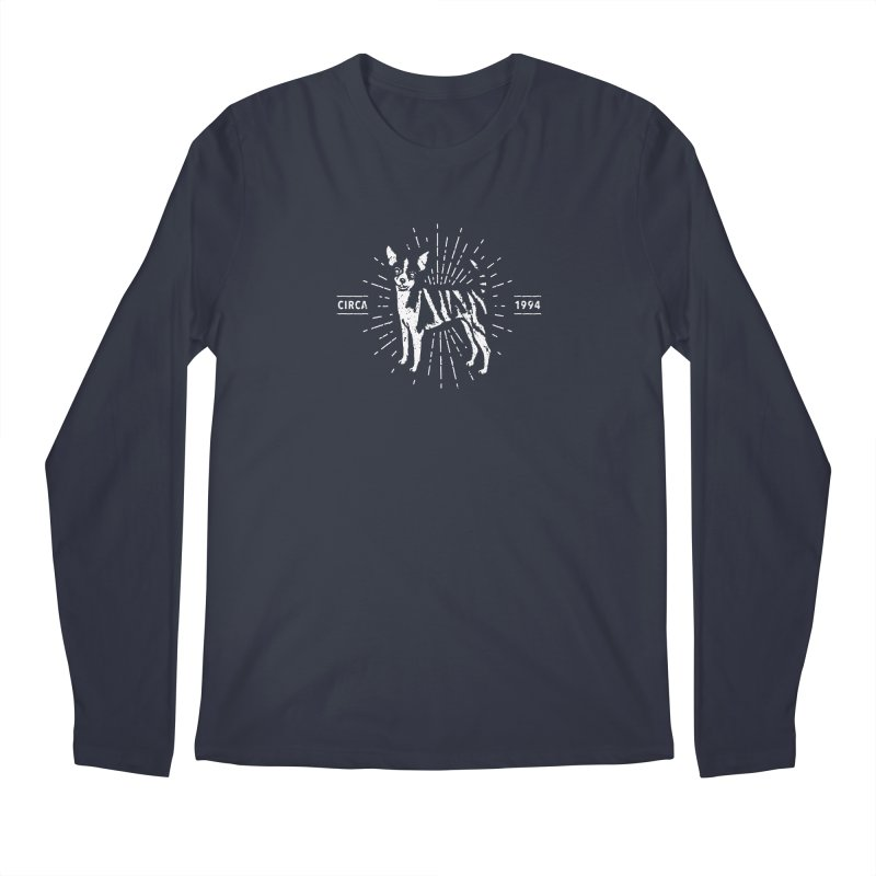 Z as in Zebra, D as in Dog Men's Regular Longsleeve T-Shirt by Zebradog Apparel & Accessories