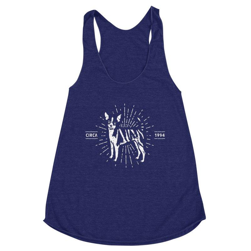 Z as in Zebra, D as in Dog Women's Racerback Triblend Tank by Zebradog Apparel & Accessories