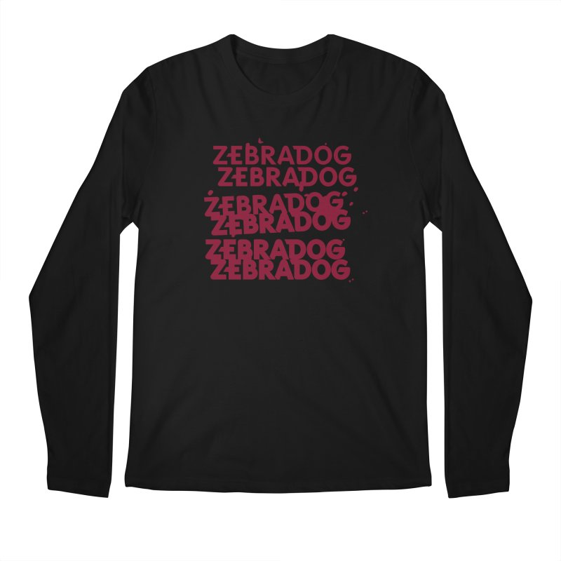 Cheap Dog Men's Longsleeve T-Shirt by Zebradog Apparel & Accessories