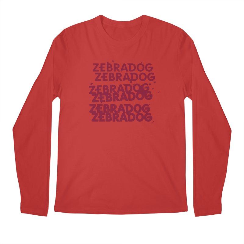Cheap Dog Men's Regular Longsleeve T-Shirt by Zebradog Apparel & Accessories