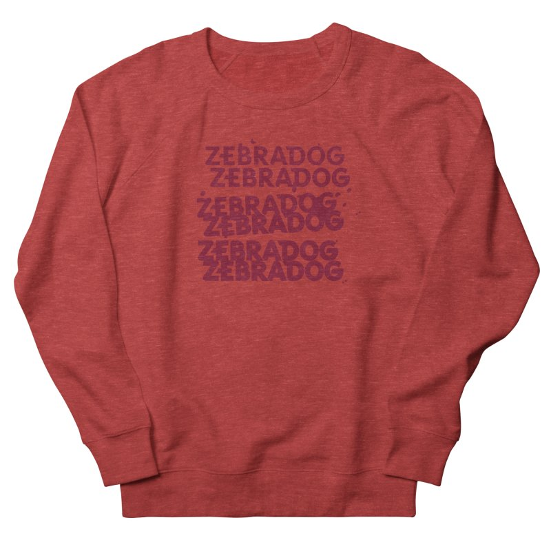 Cheap Dog Men's French Terry Sweatshirt by Zebradog Apparel & Accessories