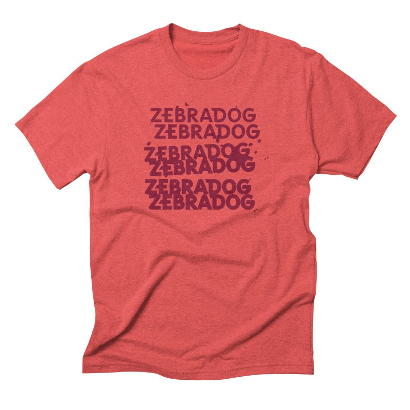Cheap Dog Men's Triblend T-Shirt by Zebradog Apparel & Accessories