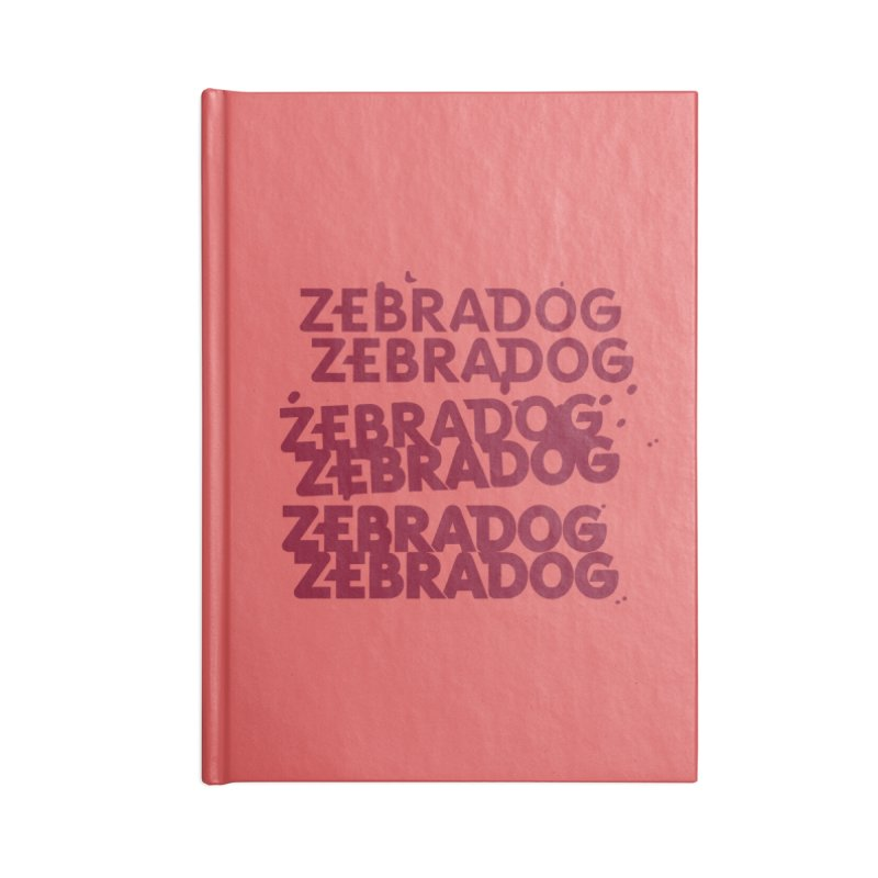 Cheap Dog Accessories Notebook by Zebradog Apparel & Accessories