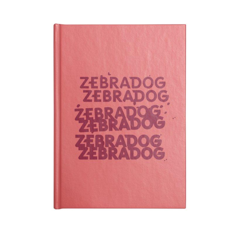 Cheap Dog Accessories Notebook by Zebradog Apparel & Accessories