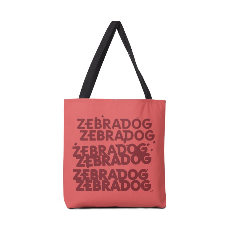 Cheap Dog Accessories Tote Bag Bag by Zebradog Apparel & Accessories