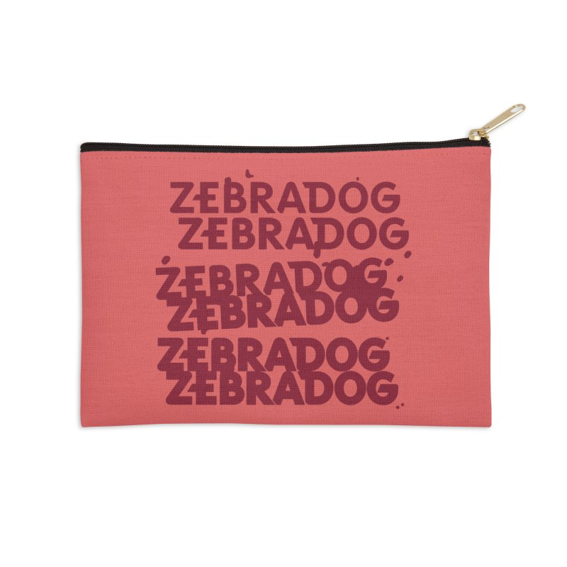 Cheap Dog Accessories Zip Pouch by Zebradog Apparel & Accessories