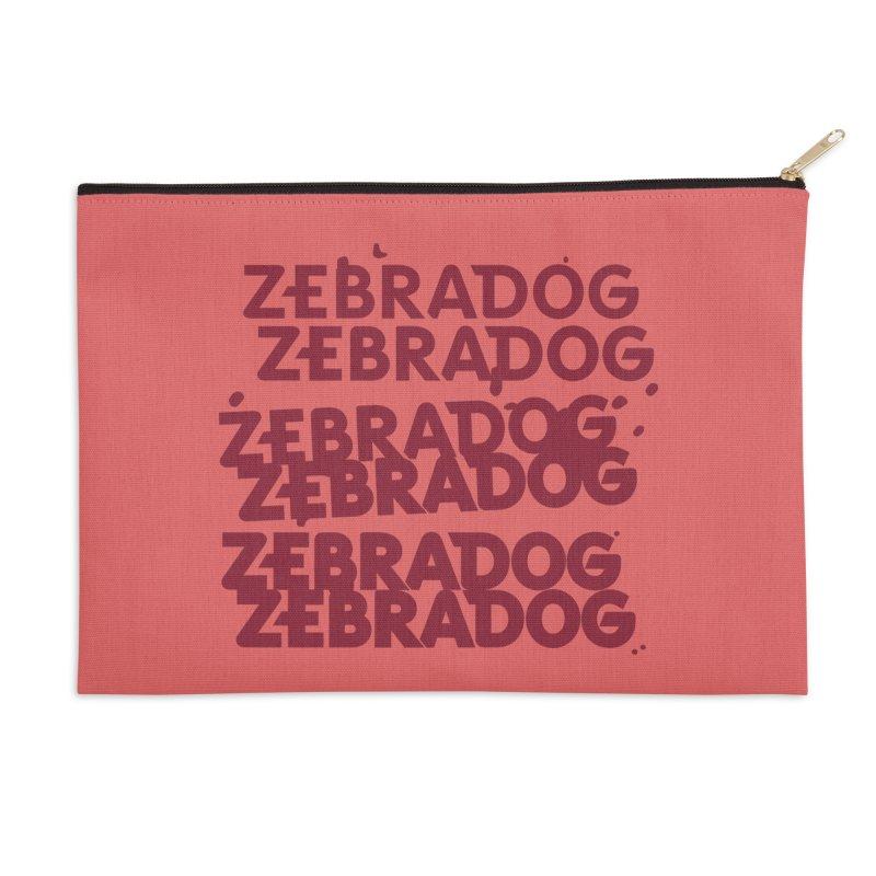 Cheap Dog Accessories Zip Pouch by Zebradog Apparel & Accessories