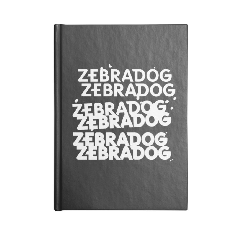 Cheap Dog - White Accessories Notebook by Zebradog Apparel & Accessories