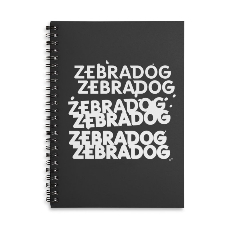 Cheap Dog - White Accessories Lined Spiral Notebook by Zebradog Apparel & Accessories