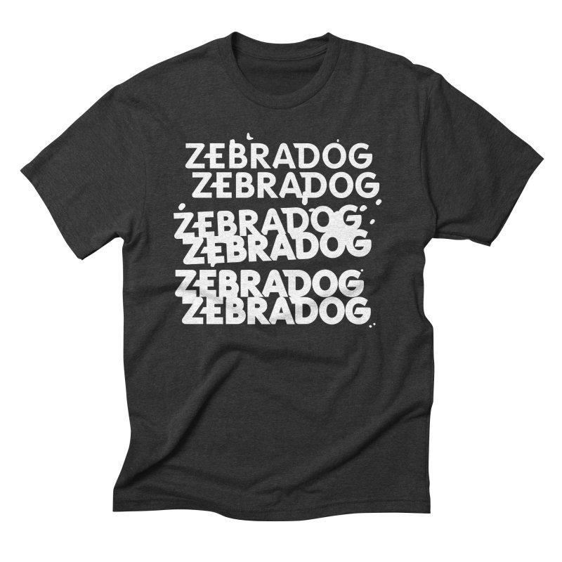 Cheap Dog - White Men's Triblend T-Shirt by Zebradog Apparel & Accessories