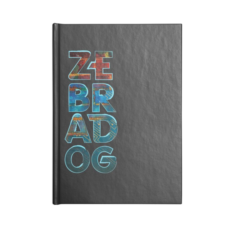 Wall Stack Accessories Blank Journal Notebook by Zebradog Apparel & Accessories