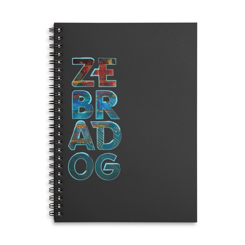 Wall Stack Accessories Lined Spiral Notebook by Zebradog Apparel & Accessories