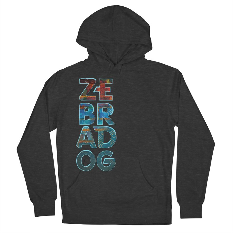 Wall Stack Men's French Terry Pullover Hoody by Zebradog Apparel & Accessories