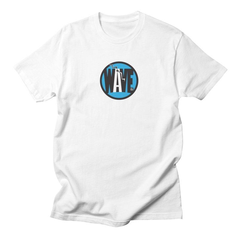 Wave Co. Blue Men's T-Shirt by Zebradog Apparel & Accessories