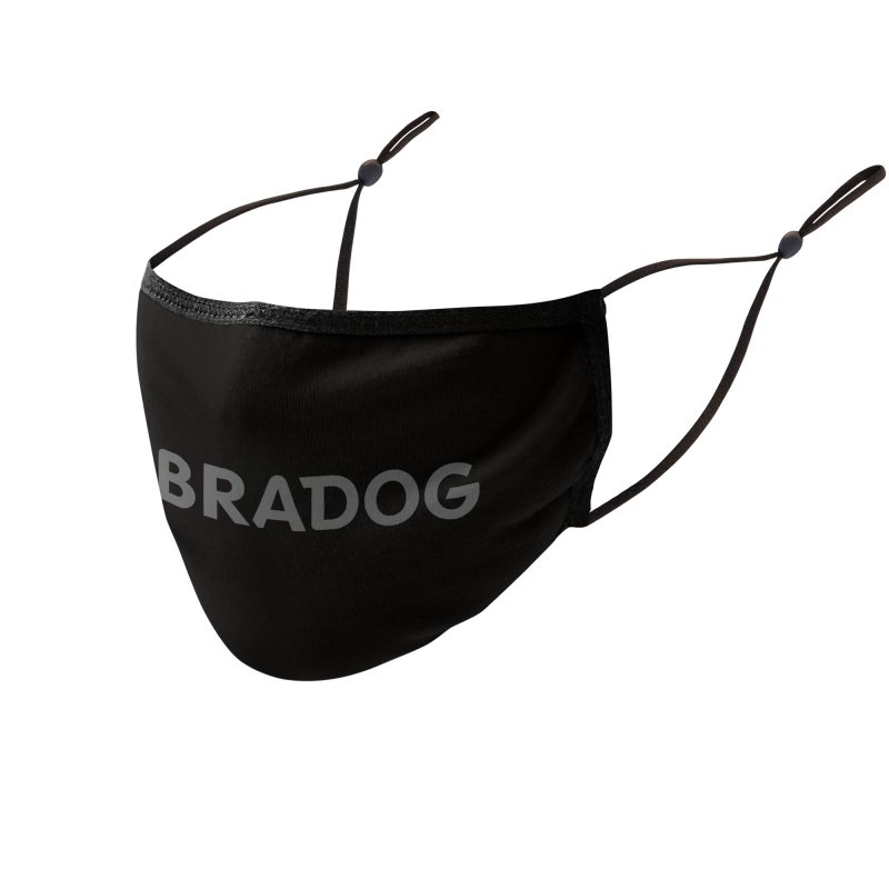 ZEBRADOG Mask (Black) Accessories Face Mask by Zebradog Apparel & Accessories