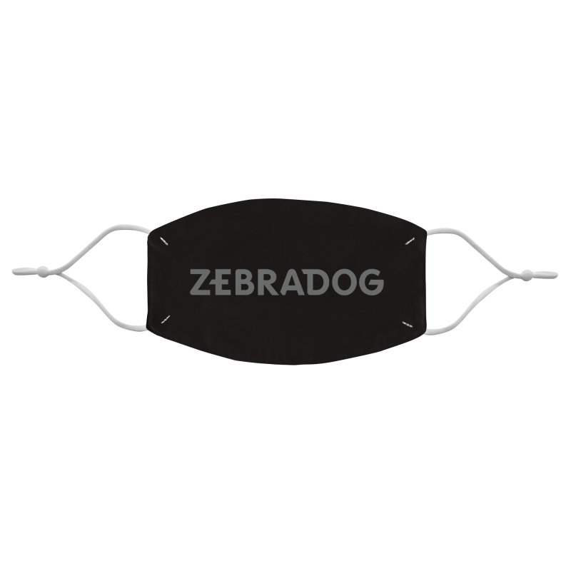 ZEBRADOG Mask (Black) Accessories Face Mask by Zebradog Apparel & Accessories