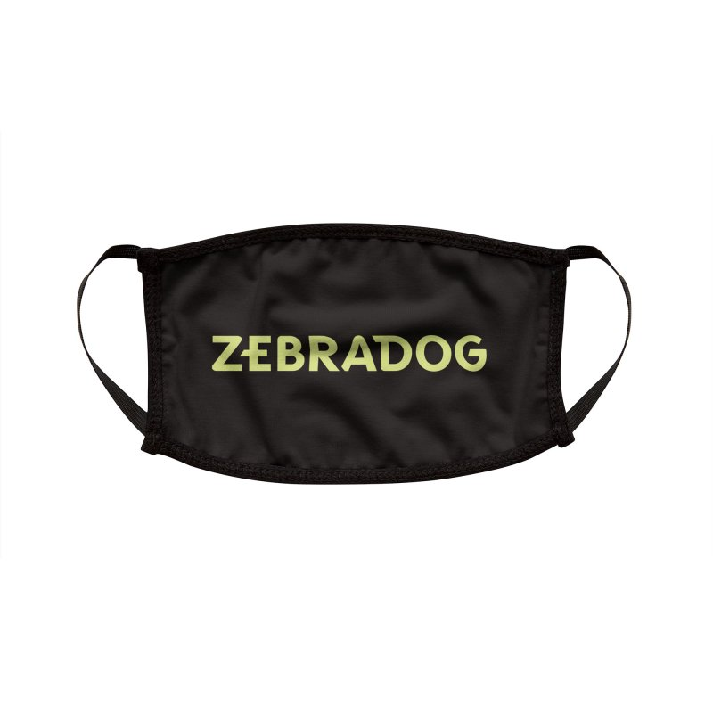 ZEBRADOG Mask (Green) Accessories Face Mask by Zebradog Apparel & Accessories