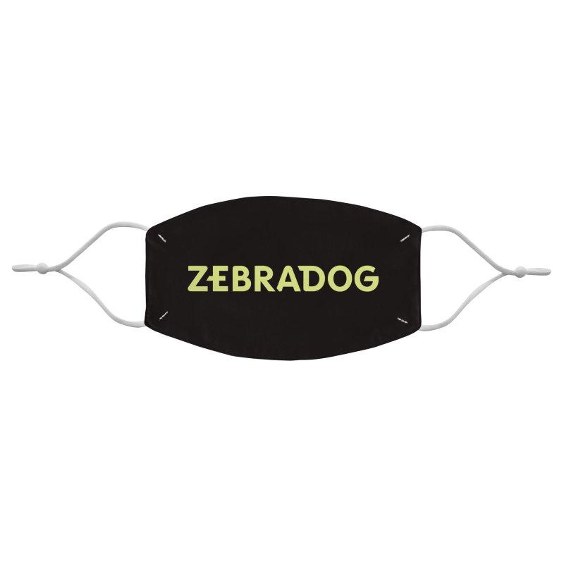 ZEBRADOG Mask (Green) Accessories Face Mask by Zebradog Apparel & Accessories