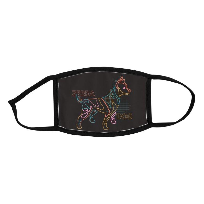 ZEBRADOG Mask (Pattern Dog) Accessories Face Mask by Zebradog Apparel & Accessories