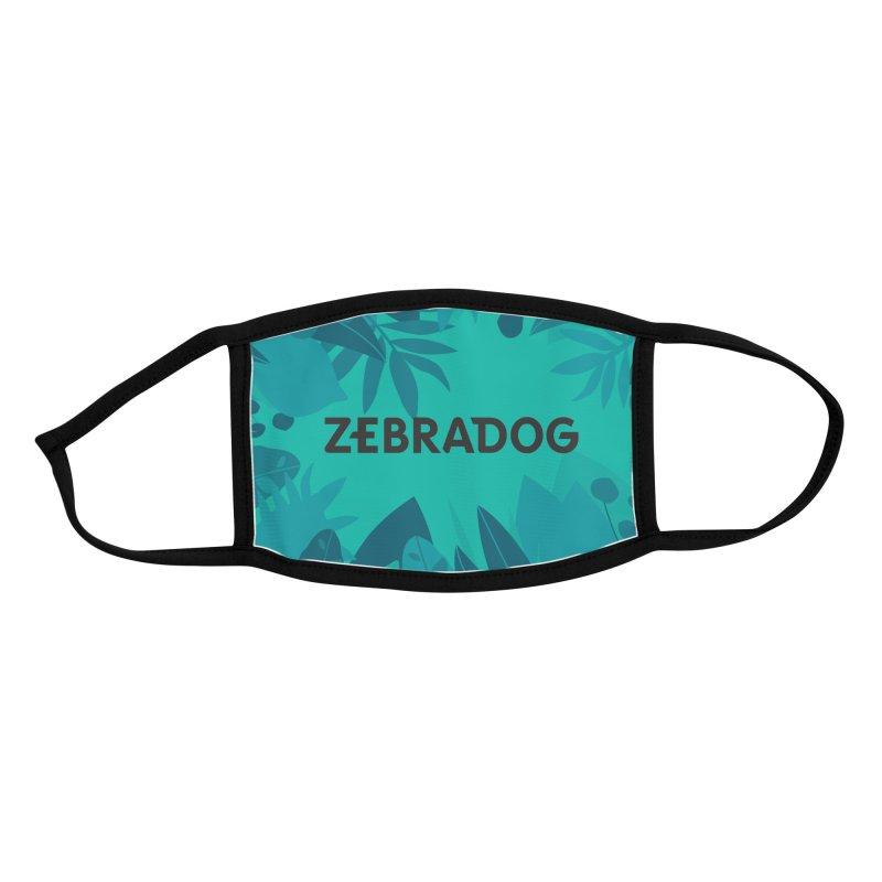 ZEBRADOG Mask (Jungle Teal) Accessories Face Mask by Zebradog Apparel & Accessories