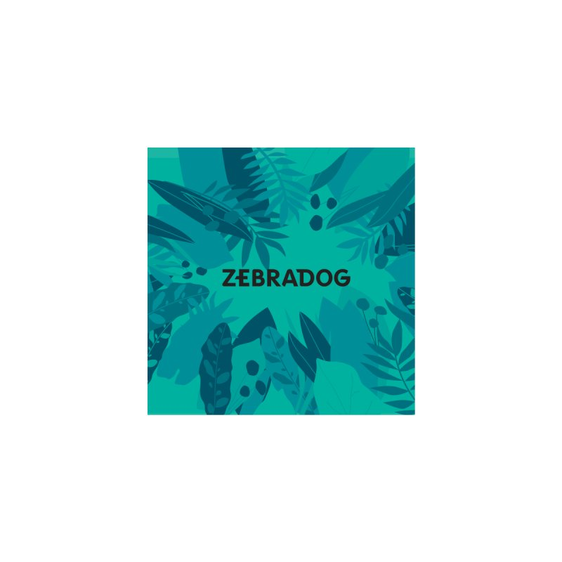 ZEBRADOG Mask (Jungle Teal) Accessories Face Mask by Zebradog Apparel & Accessories