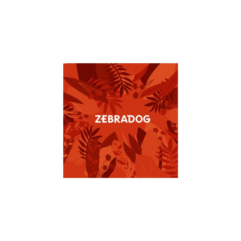ZEBRADOG Mask (Jungle Orange) Accessories Face Mask by Zebradog Apparel & Accessories