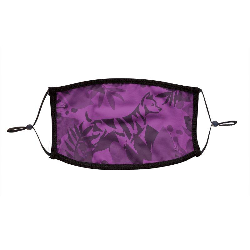 ZEBRADOG Mask (Jungle Purple) Accessories Face Mask by Zebradog Apparel & Accessories