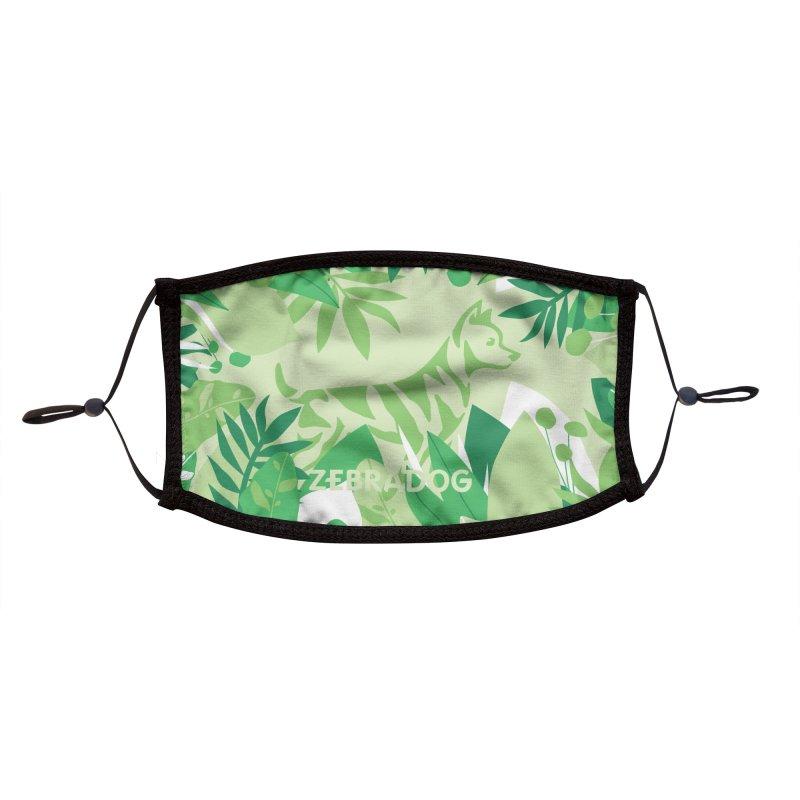 ZEBRADOG Mask (Jungle Green) Accessories Face Mask by Zebradog Apparel & Accessories