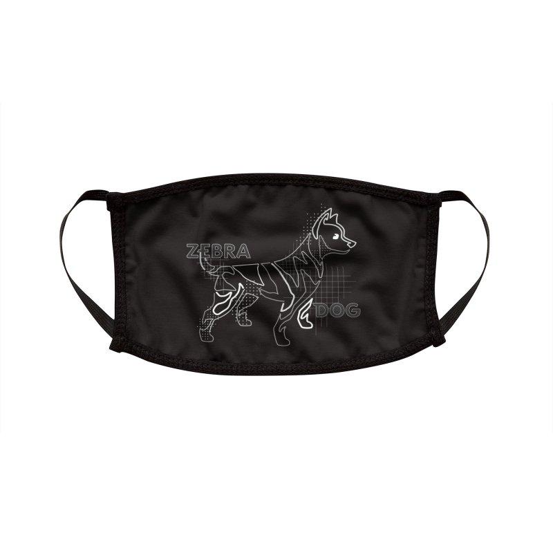 ZEBRADOG Mask (Pattern Grayscale) Accessories Face Mask by Zebradog Apparel & Accessories