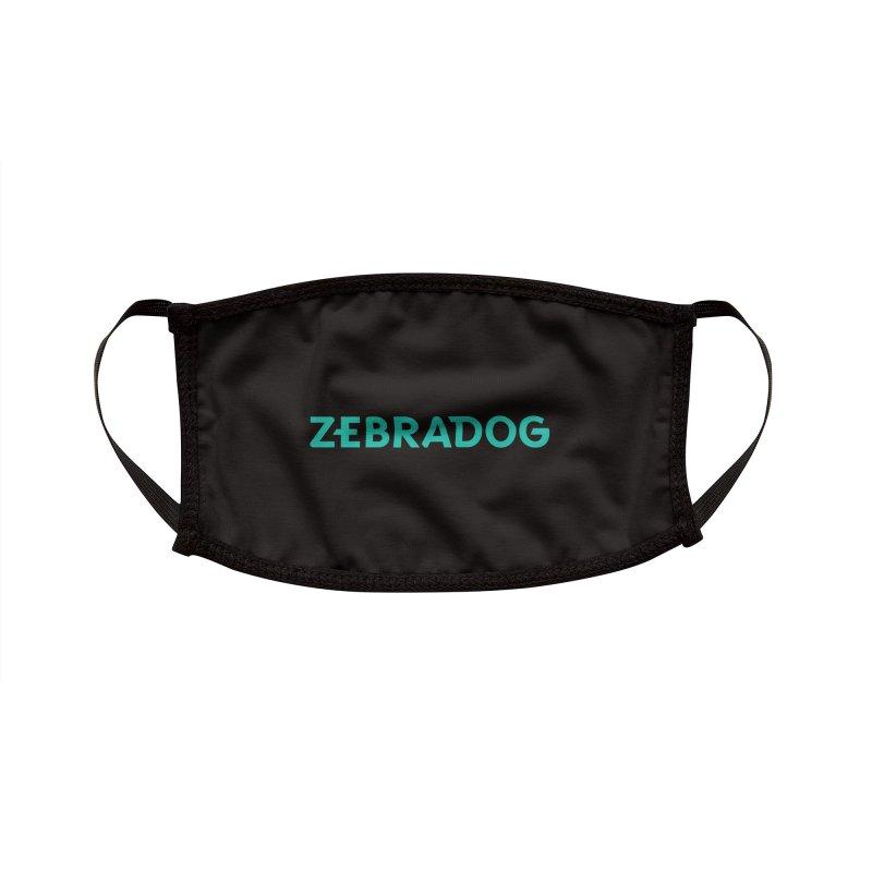 ZEBRADOG Mask (Teal) Accessories Face Mask by Zebradog Apparel & Accessories