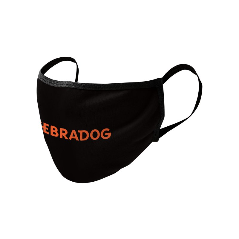 ZEBRADOG Mask (Orange) Accessories Face Mask by Zebradog Apparel & Accessories