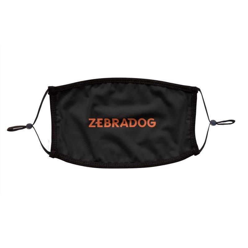 ZEBRADOG Mask (Orange) Accessories Face Mask by Zebradog Apparel & Accessories