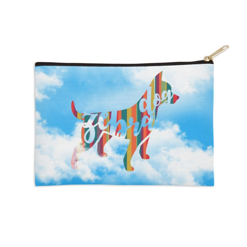Over the Rainbow Accessories Zip Pouch by Zebradog Apparel & Accessories