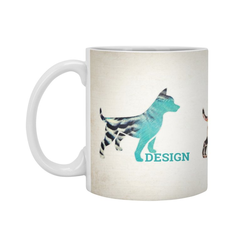 DDD Accessories Mug by Zebradog Apparel & Accessories