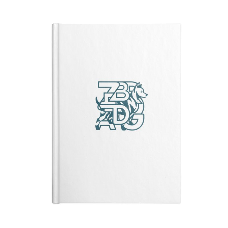 Mish Mash Accessories Lined Journal Notebook by Zebradog Apparel & Accessories