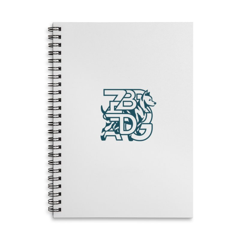 Mish Mash Accessories Lined Spiral Notebook by Zebradog Apparel & Accessories