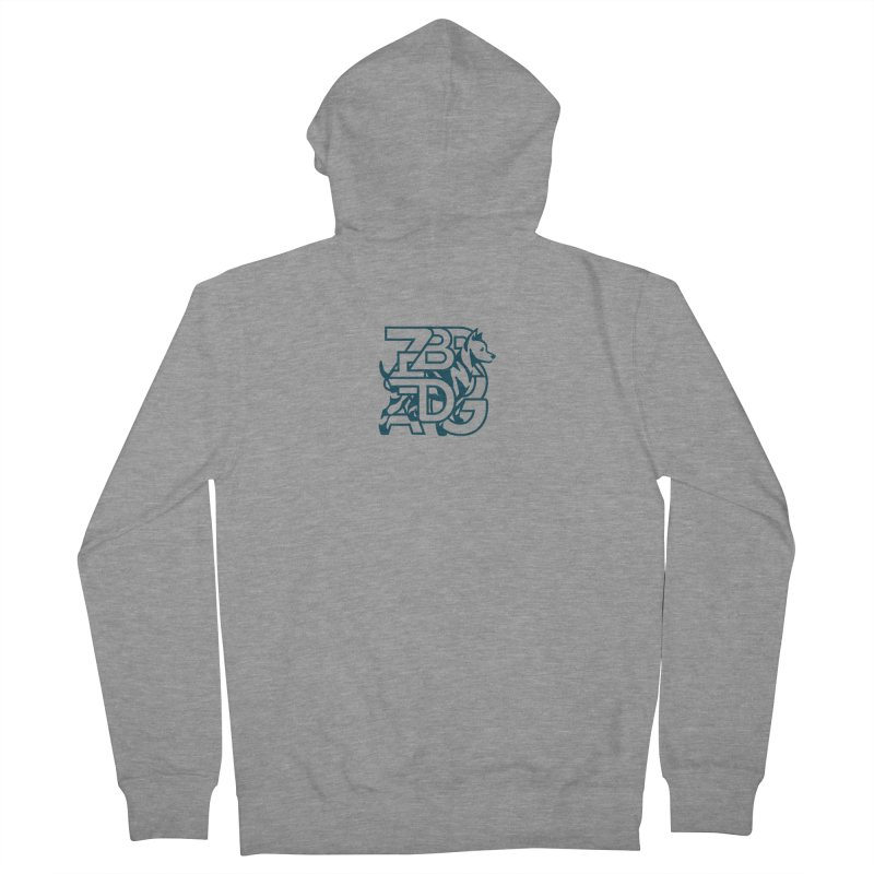 Mish Mash Men's French Terry Zip-Up Hoody by Zebradog Apparel & Accessories