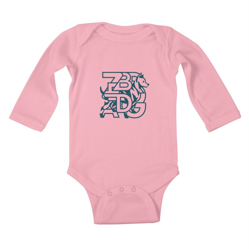 Mish Mash Kids Baby Longsleeve Bodysuit by Zebradog Apparel & Accessories
