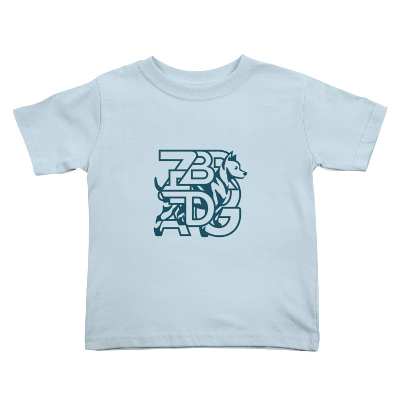 Mish Mash Kids Toddler T-Shirt by Zebradog Apparel & Accessories