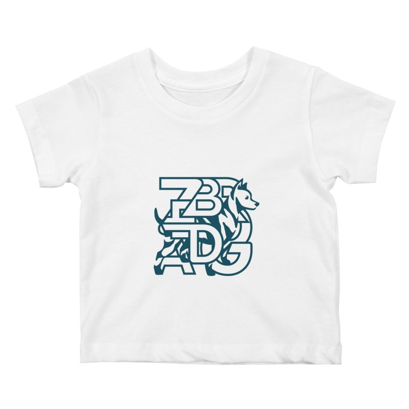 Mish Mash Kids Baby T-Shirt by Zebradog Apparel & Accessories