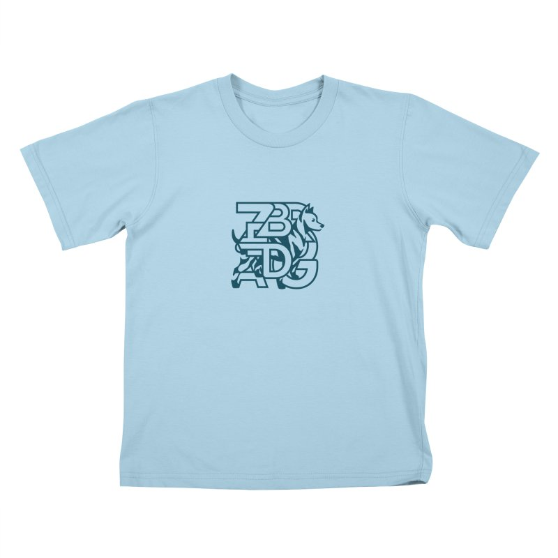 Mish Mash Kids T-Shirt by Zebradog Apparel & Accessories