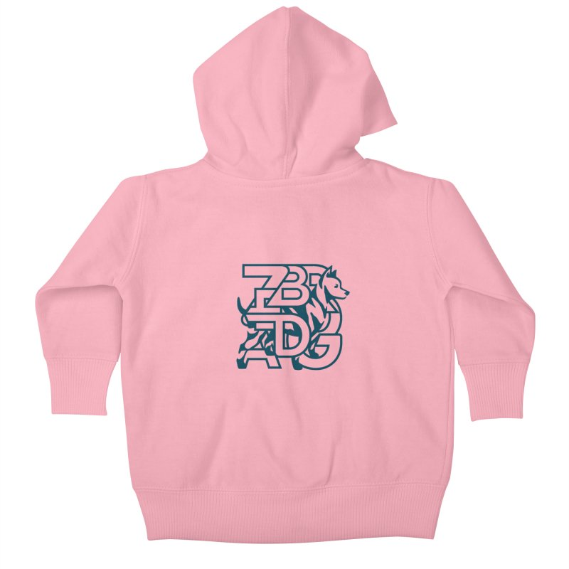 Mish Mash Kids Baby Zip-Up Hoody by Zebradog Apparel & Accessories