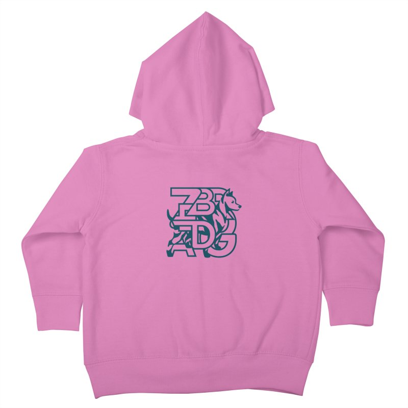 Mish Mash Kids Toddler Zip-Up Hoody by Zebradog Apparel & Accessories