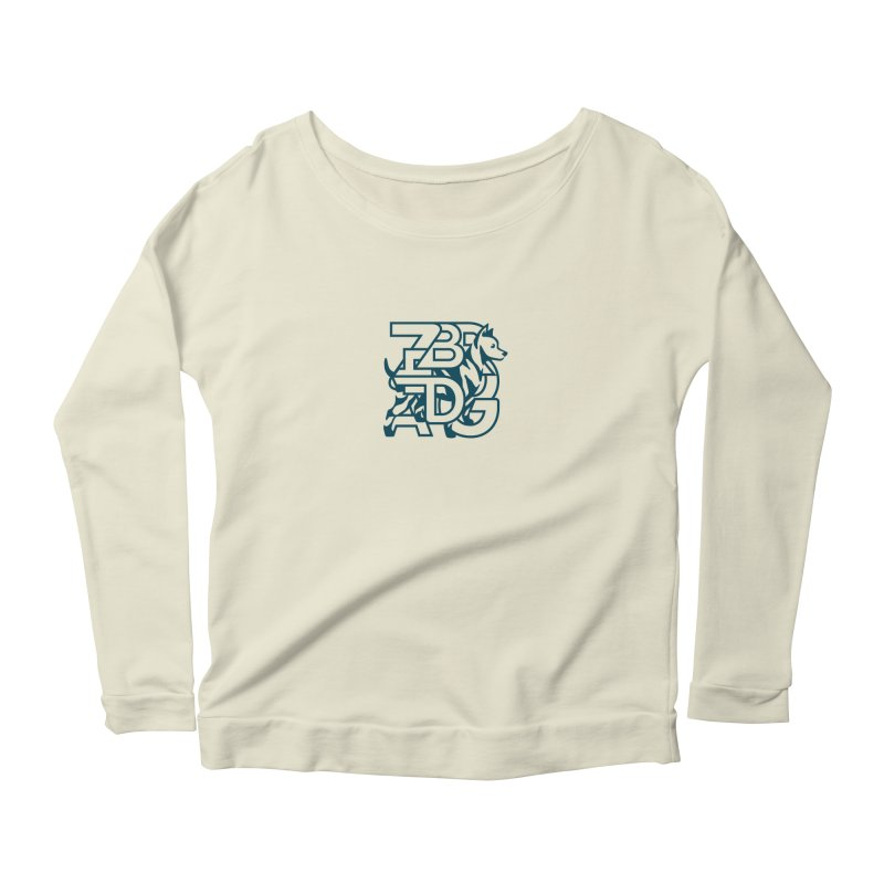 Mish Mash Women's Scoop Neck Longsleeve T-Shirt by Zebradog Apparel & Accessories