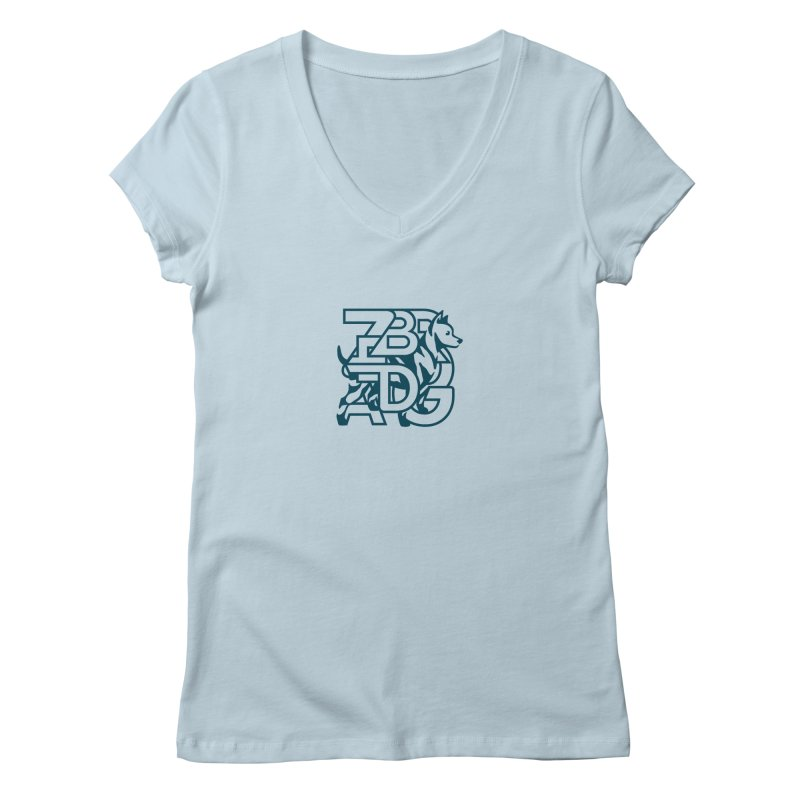 Mish Mash Women's V-Neck by Zebradog Apparel & Accessories